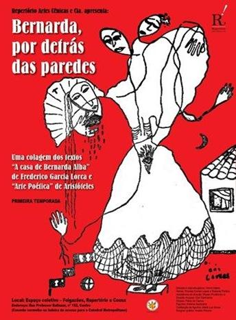 cartaz Bernarda