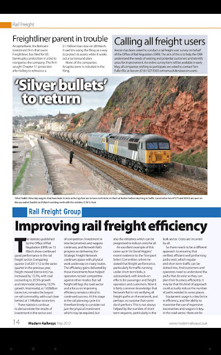 【免費新聞App】Modern Railways Magazine-APP點子