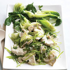Asian Chicken Salad with Bok Choy