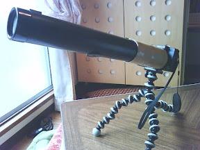 組立望遠鏡