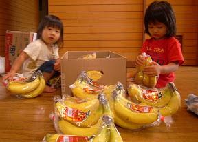 たくさんのバナナ~♪