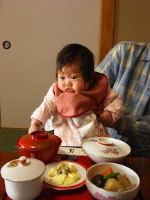 もえちゃん お食い初め