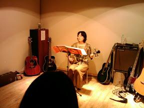 洋子さんの三線