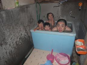 初めての内風呂
