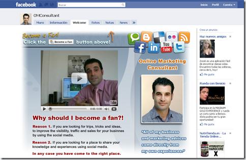 Sitio Facebook OMConsultant