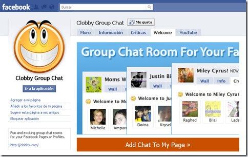 Página en Facebook de Clobby