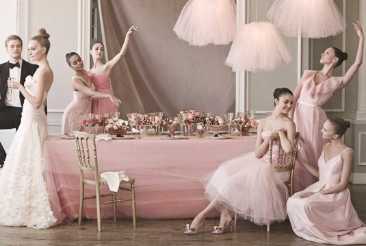 Ditte Isager for MS Weddings 2010 Ballet