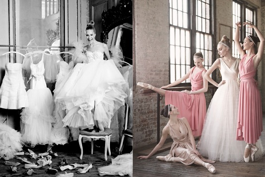 Ditte Isager for MS Weddings 2010 Ballet 2