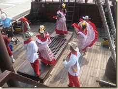 Local Dancers on the Galleon (Small)