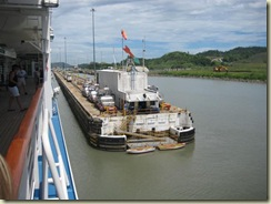 Entering Pedro Miguel Locks (Small)