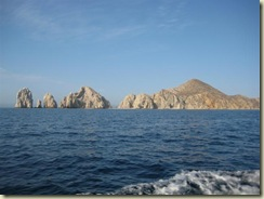 Cabo View of Rocks from Tender (Small)