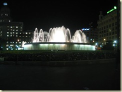 Foutain - Plaza  Catalunya (Small)
