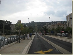 Haifa - Street to Bahai Temple (Small)