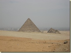 Menkaure Pyramid and Pyramid of the Queens (Small)