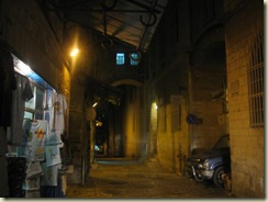 Dark alley in Christian Quarter (Small)