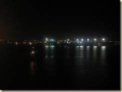 Nighttime Cartagena from Deck (Small)