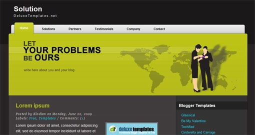 free-professional-business-black-web2 -blogger-xml-template-for-2010-Solution