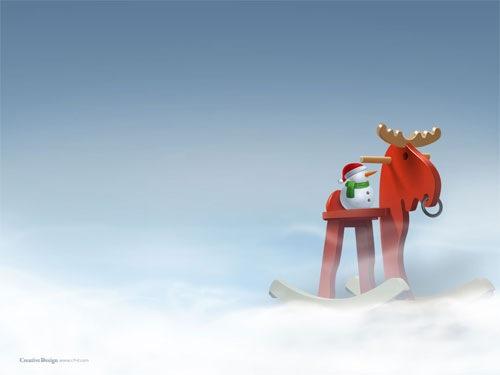 3d wallpaper for desktop background. 48.3d Christmas Background