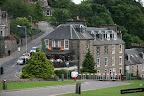 Desde Inverness Castle se ve este restaurante que parece muy coqueto
