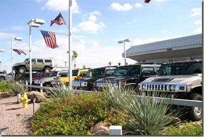 60 - En dat Scotsdale voor de rijke lui is merk je aan de auto-dealers