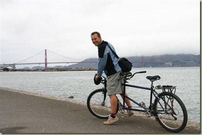 86 - En lekker fietsen naar en over de Golden Gate Bridge