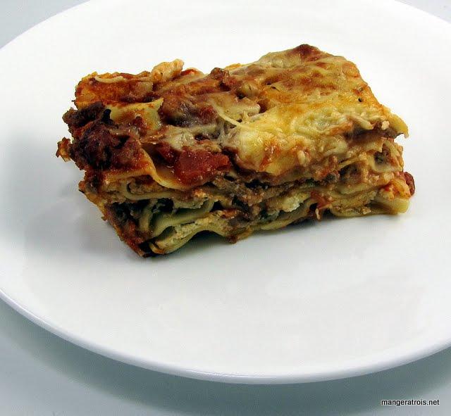 Hearty Meat Lasagna