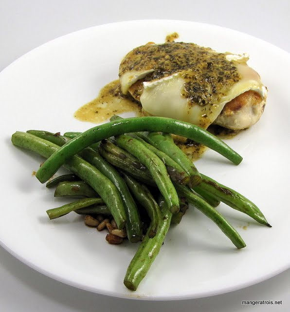 Brie Stuffed Chicken Breasts