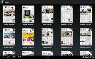 Screenshot of NRC