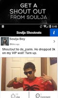 Screenshot of Soulja Boy SODMG Official App