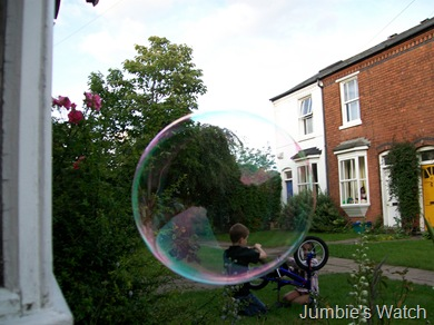 huge bubble