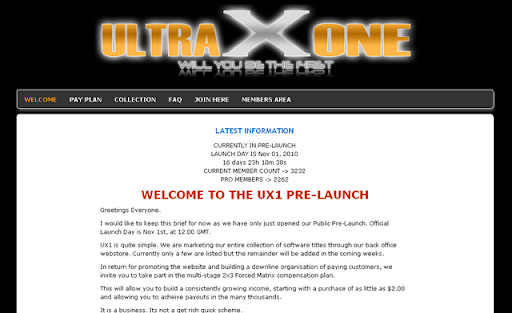 UltraXOne money