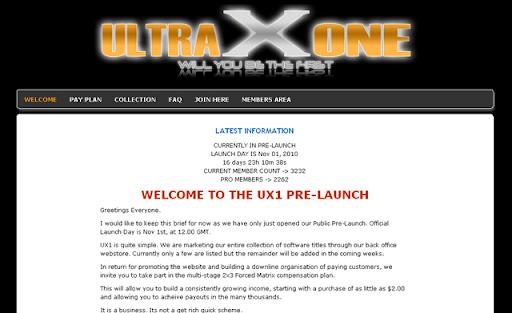 UltraXOne money