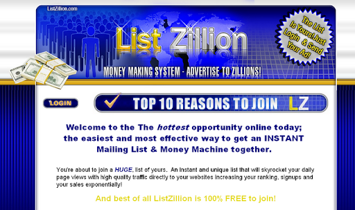listzillion money