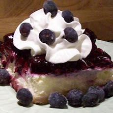 Blueberry Shortbread Cheesecake