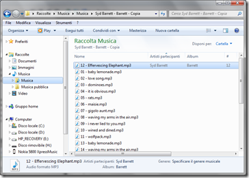 windows 7 vista modifica ID3 tag mp3