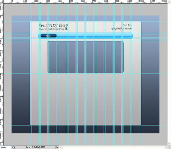 Making Portfolio Layout in Photoshop