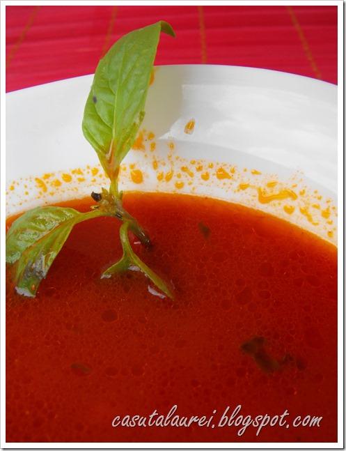 Articole culinare : Supa de rosii cu busuioc – italian style