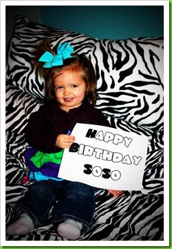 Happy Birthday SoSo