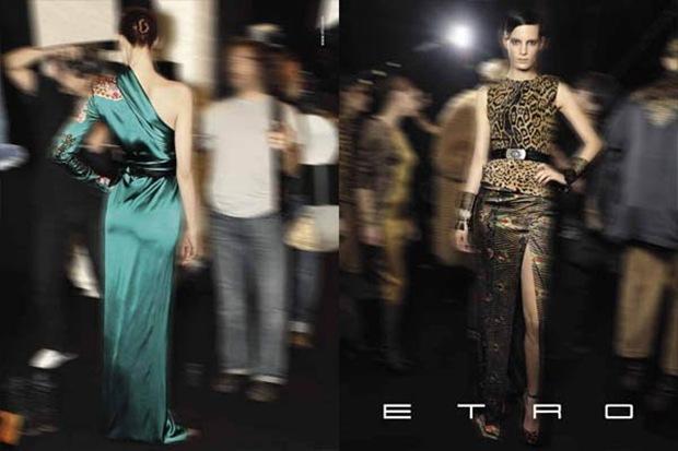 ETRO Fall Winter 2010.11 Campaign 02