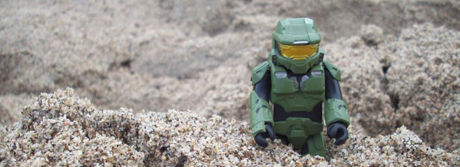 Even Master Chief needs some time off every now and then