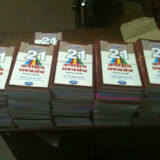 21 set distribution to Night School Children