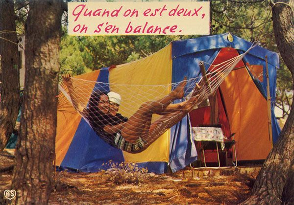 Cartes Postales Pop et  Kitsch des années 50, 70 et 70 - Pop and kitsch vintage postcards from the fifties, the sixties and the seventies : Humours de vacances