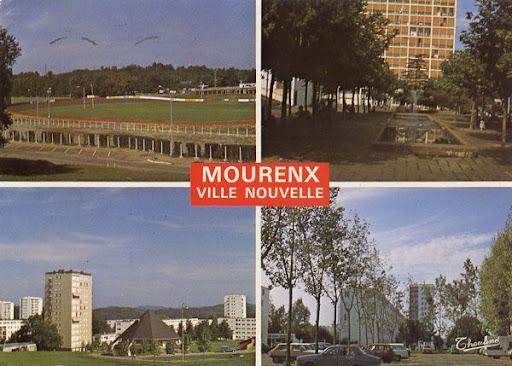 Cartes Postales Pop et  Kitsch des années 50, 70 et 70 Suburban architecture / Architecture de villes nouvelles