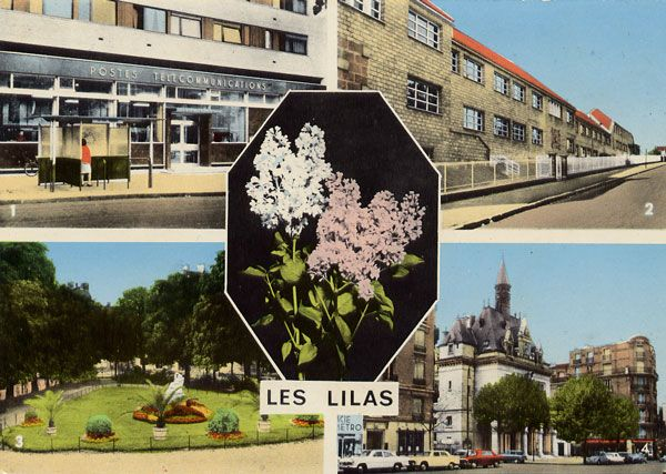 Cartes Postales Pop et  Kitsch des années 50, 70 et 70 villes pas funky / (un) funky towns