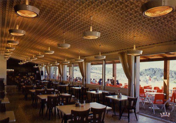 Cartes Postales Pop et  Kitsch des années 50, 70 et 70 Réserve africaine de Sigean (AUDE)Restaurant Le Safari