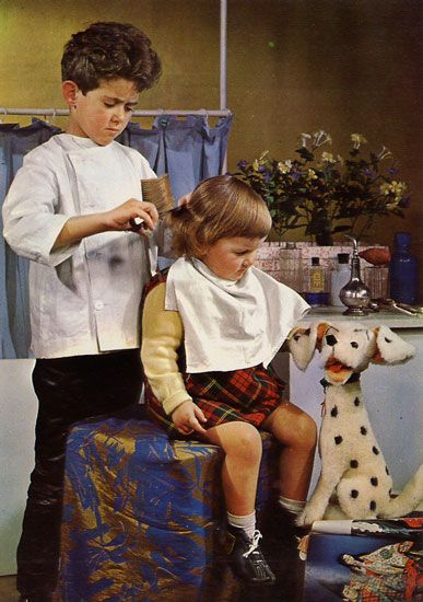 Cartes Postales Pop et  Kitsch des années 50, 70 et 70. Et toi, qu'est ce que tu veux faire quand tu seras grand ? - And you, what do you want to do when you grow up ?