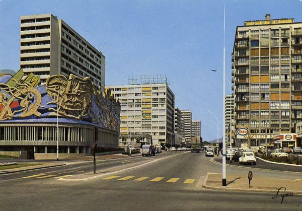 Cartes Postales Pop et  Kitsch des années 50, 70 et 70 - Douceur de vivre : ARGENTEUIL - 95100 (Val d'Oise L'Avenue Gabriel Péri