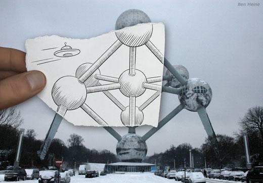 Ben Heine (Pencil vs Camera)
