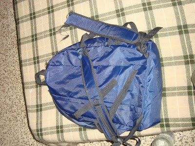 Backpacking lesson #42 - Invest in a good bag