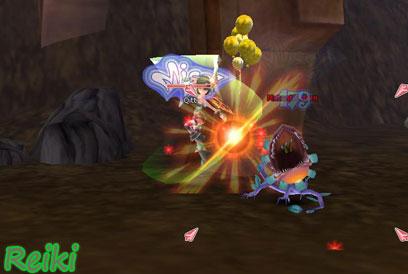 FlyFF in-game screen